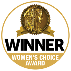 Restonic Mattress is a recipient of a Women's Choice Award.