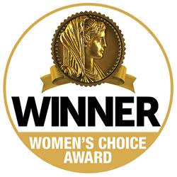 Restonic Mattress is a recipient of a Women's Choice Award.