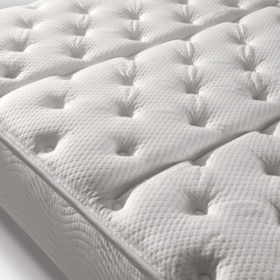 Close up of mattress surface