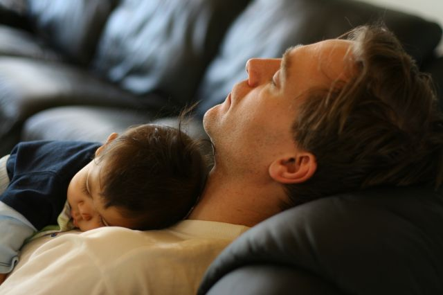 dads need sleep