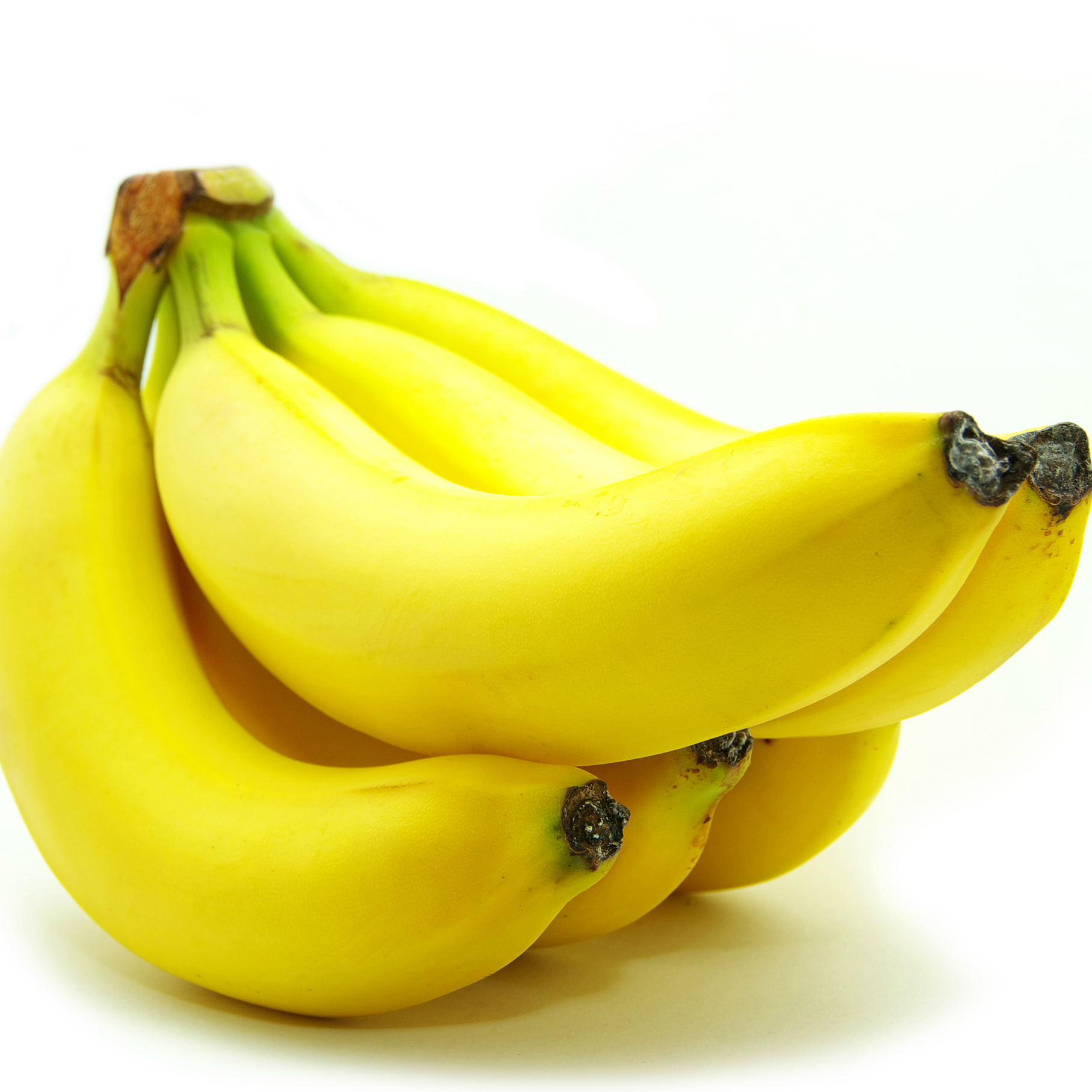 A bunch of yellow bananas that contain sleep-inducing amino acid tryptophan, which encourages relaxation.