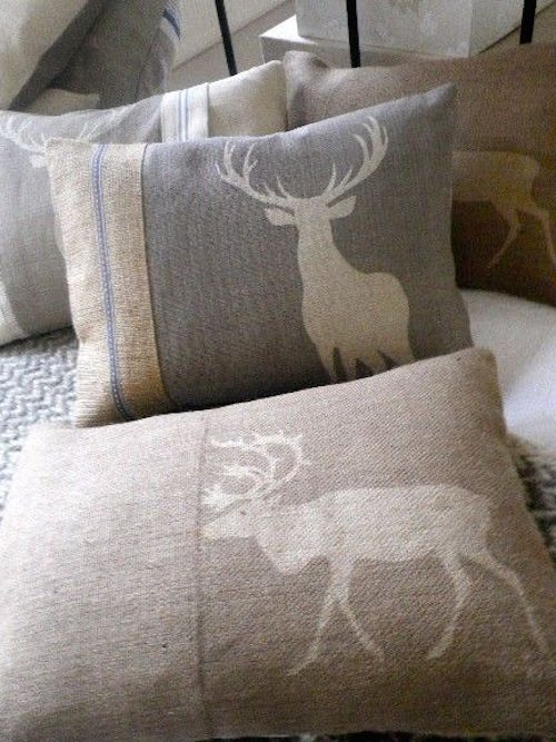 Christmas pillows animal print