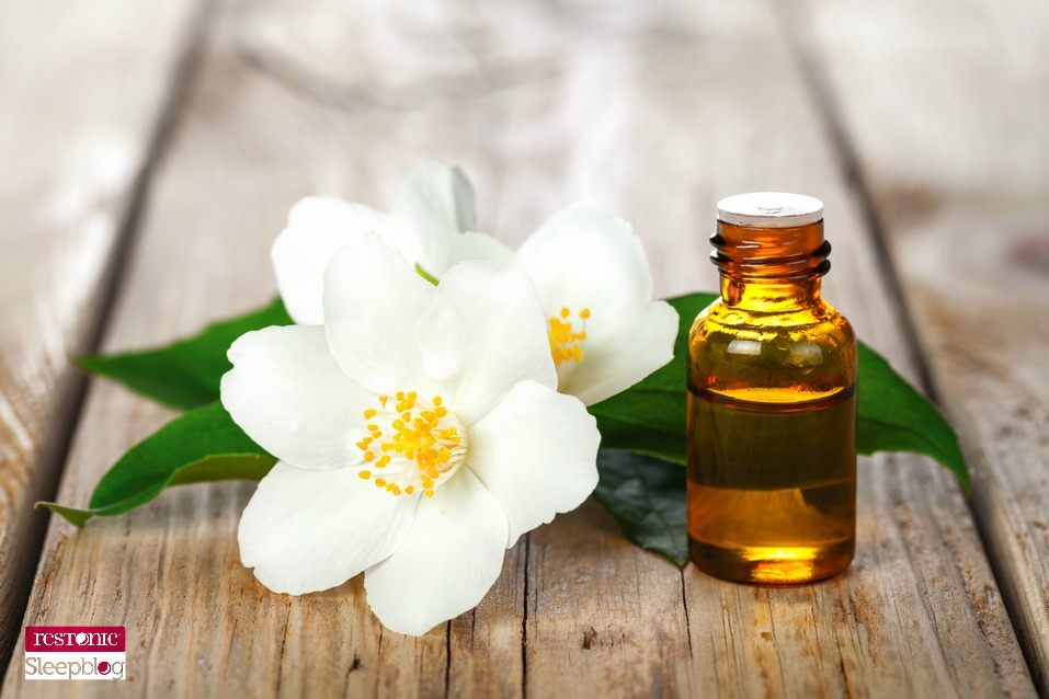 sleep scents: jasmine