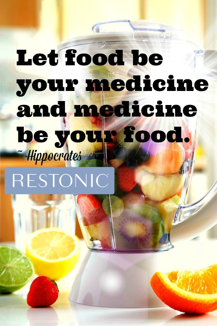 """""""Let food be your medicine and medicine be your food"""" 