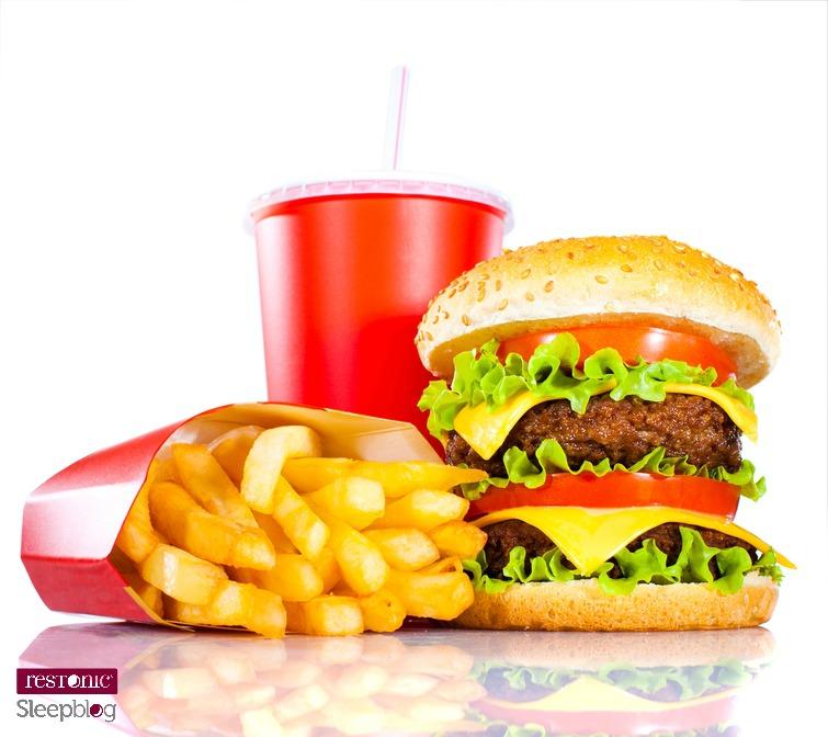 fast food & sleep