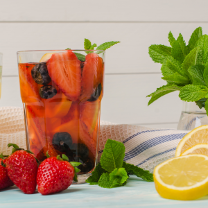 Healthy, Energy Drink Recipes - berry citrus