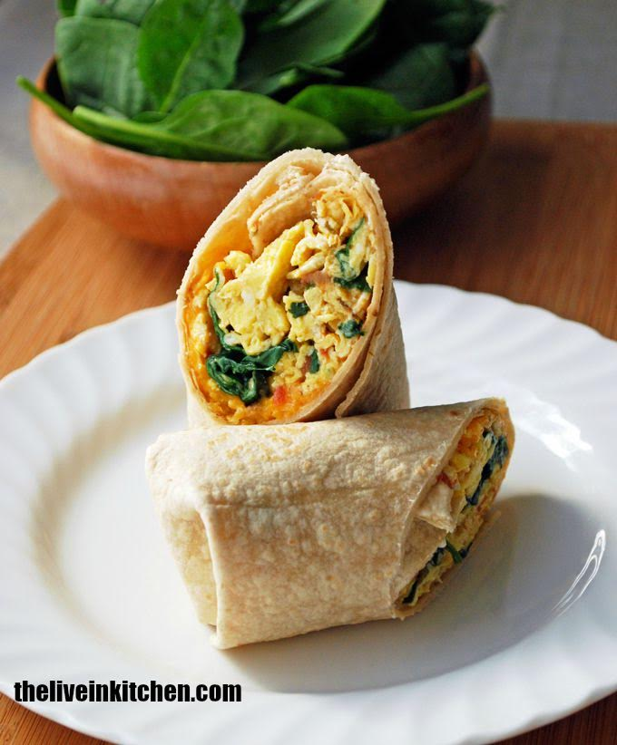 breakfast burrito live in kitchen