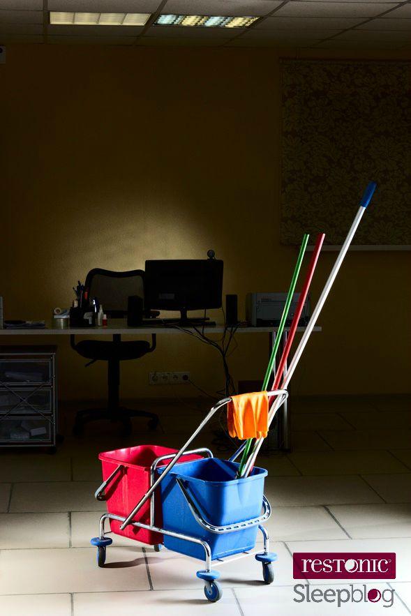 work bucket mop