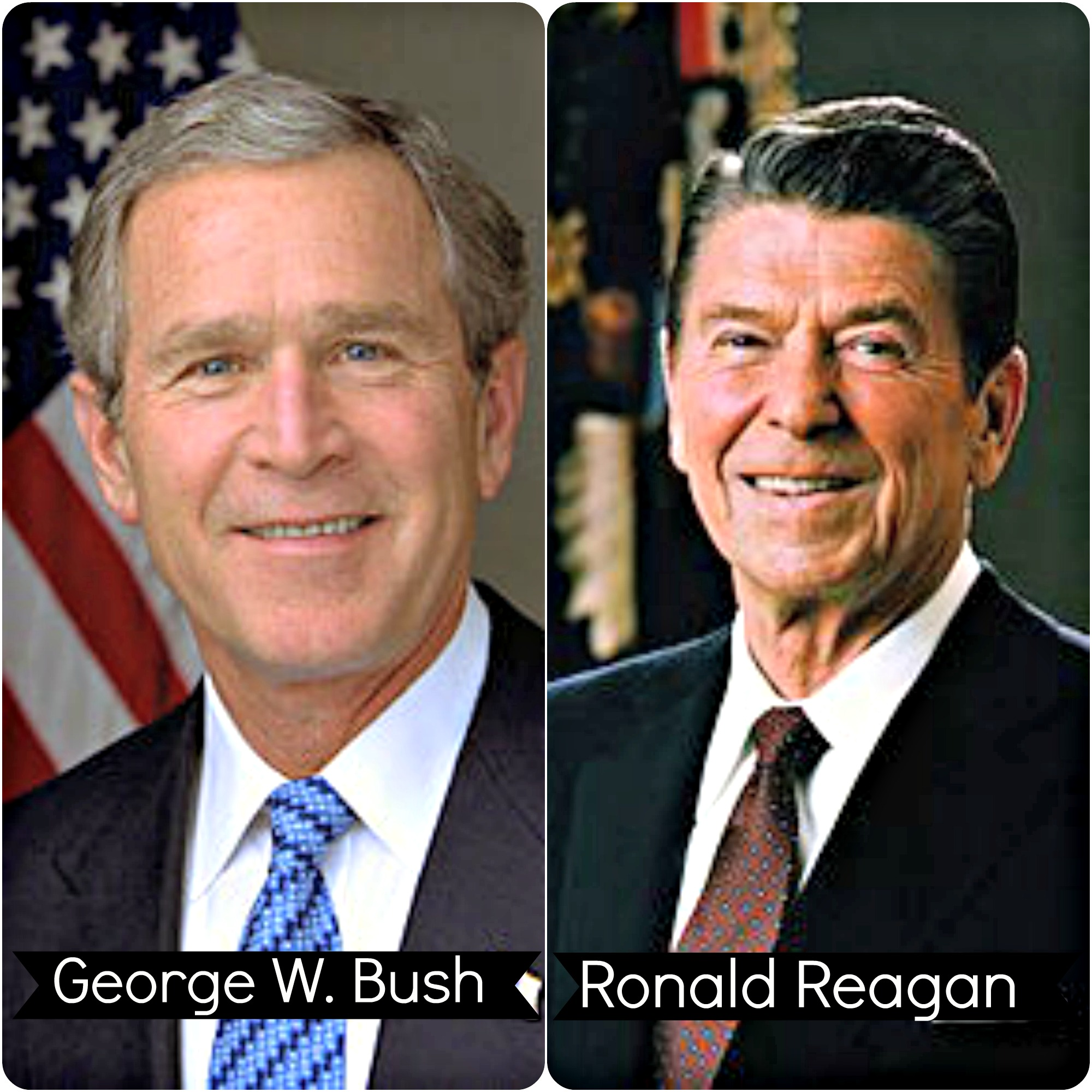 26 Bush and Reagan updated