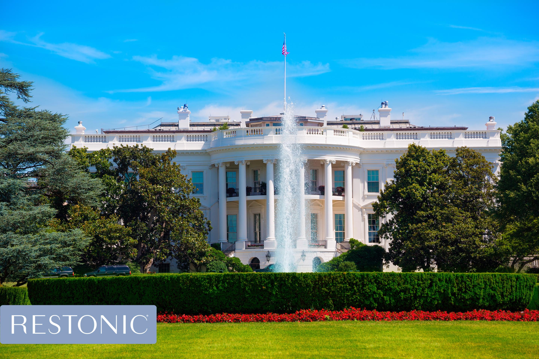 White House in Washington DC USA United States