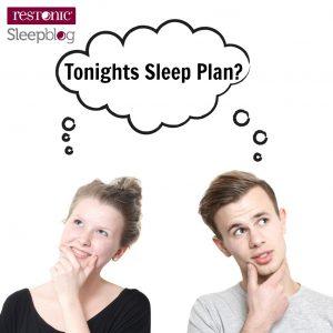 Plan for better sleep tonight