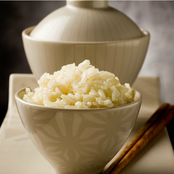Small bowl of rice