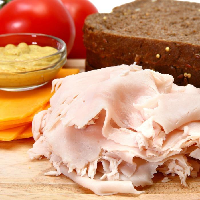 Mini turkey sandwich