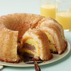 Hash Brown Snídaně Bundt recept