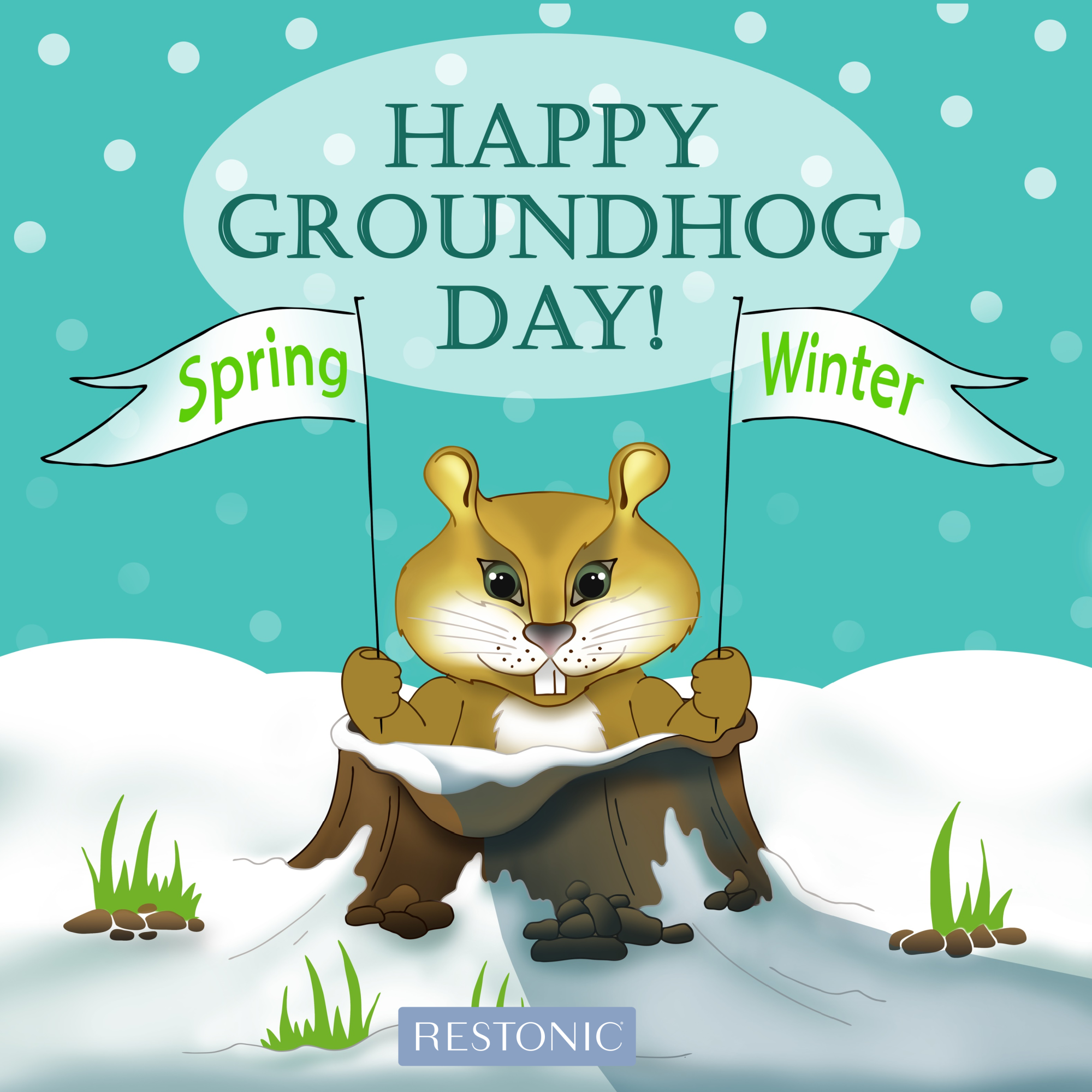 Groundhog Day – Will an Earlier Spring Mean Better Sleep for Us?