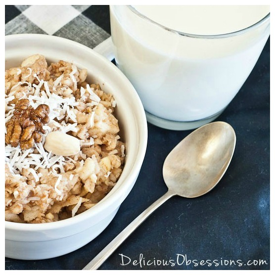 Apple muesli