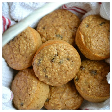 Oatmeal raisin muffin recipe