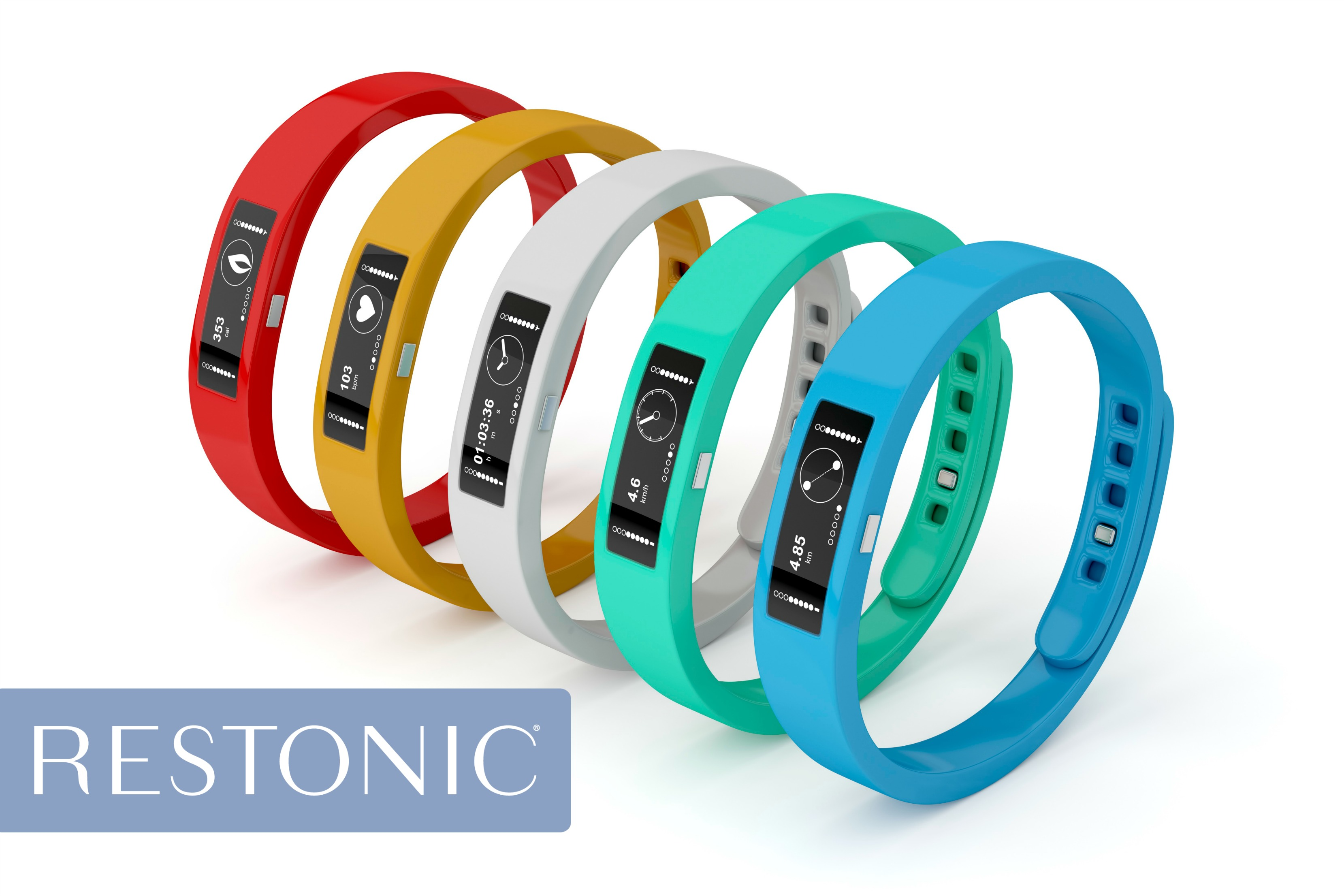 5 colored fitness trackers | Are these devices helping to create good sleep habits?
