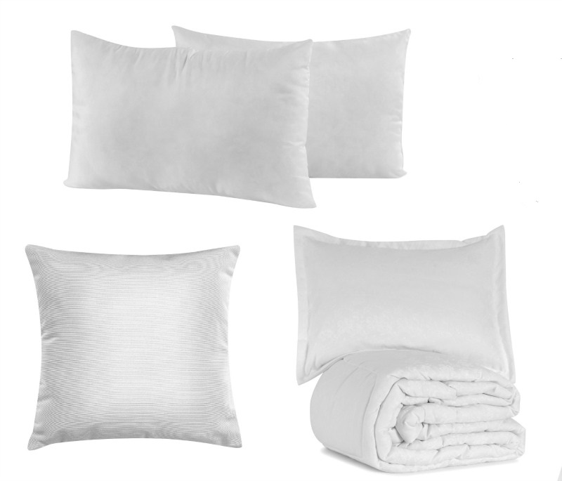 Don't procrastinate washing your pillows and comforter.