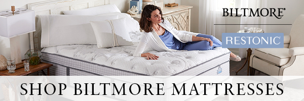 Shop Biltmore mattresses from Restonic