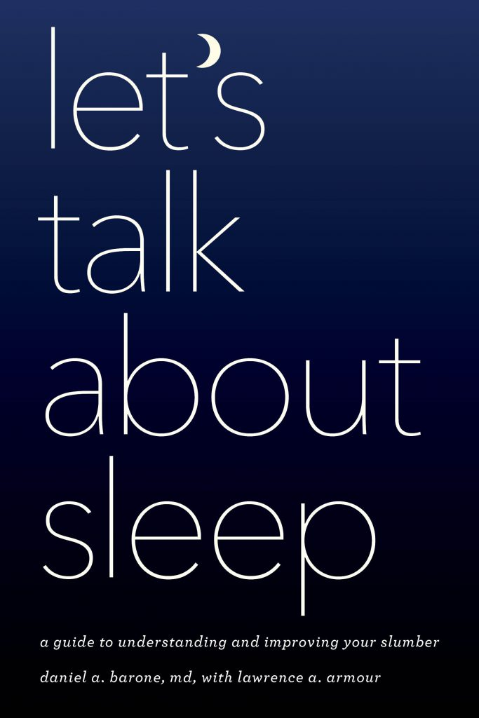 Let's Talk About Sleep - book cover