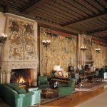 The Biltmore tapestry gallery served as inspiration behind Restonic's Biltmore mattress collection.