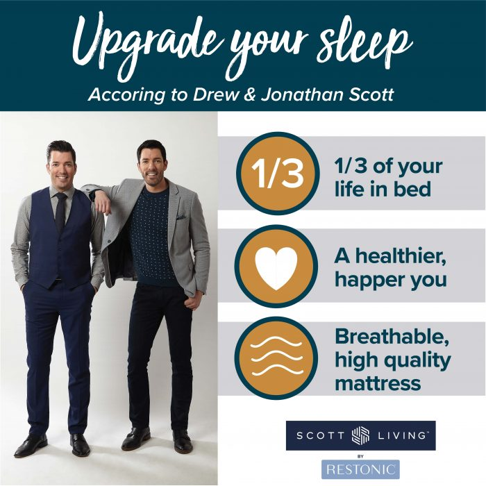 The Value Of A Supportive Quality Mattress From Hgtv S Property Brothers Drew Jonathan Scott Restonic,Comfort Room Cleaning Teenager Bedroom Cleaning Checklist