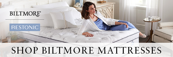 Restonic's Biltmore collection of mattresses shares the same characteristics of quality, elegance and luxury.