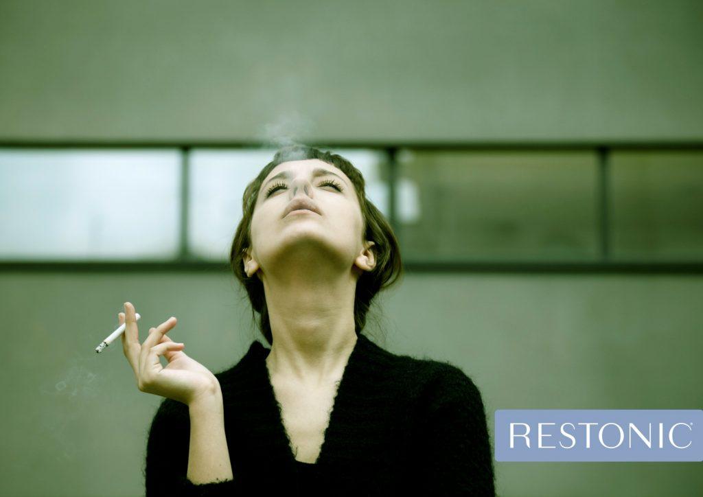 Non-smokers get better sleep than smokers.