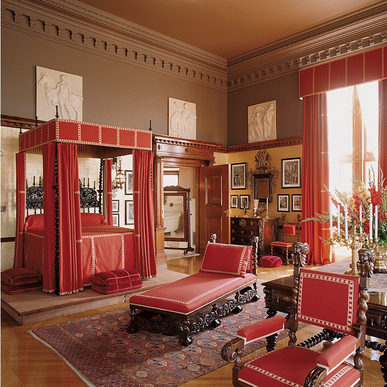 Vanderbilt bedroom at Biltmore