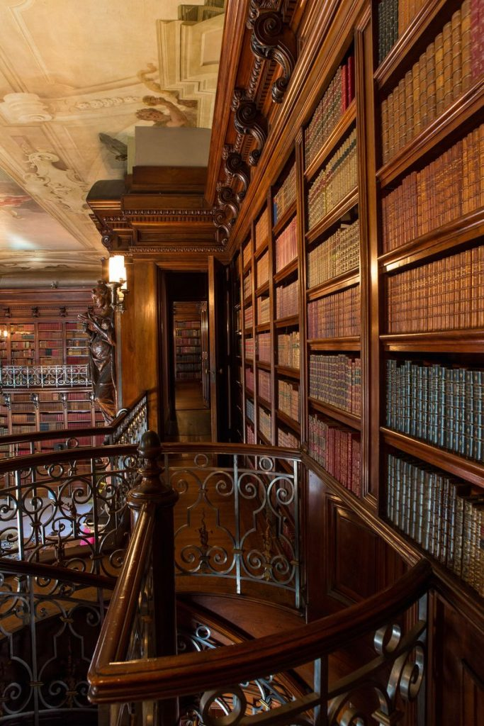 Based on the 22,000 volumes in the Biltmore Library, George Vanderbilt was devoted to reading as a healthy bedtime habit.