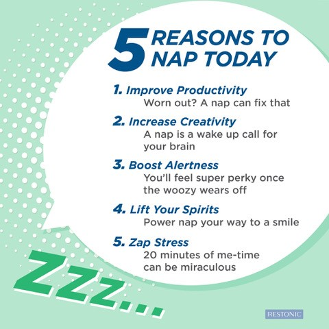 5 reasons to nap today