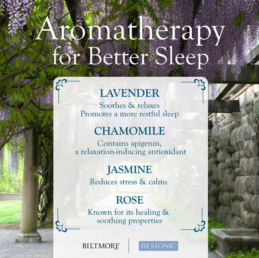 Aromatherapy for better sleep