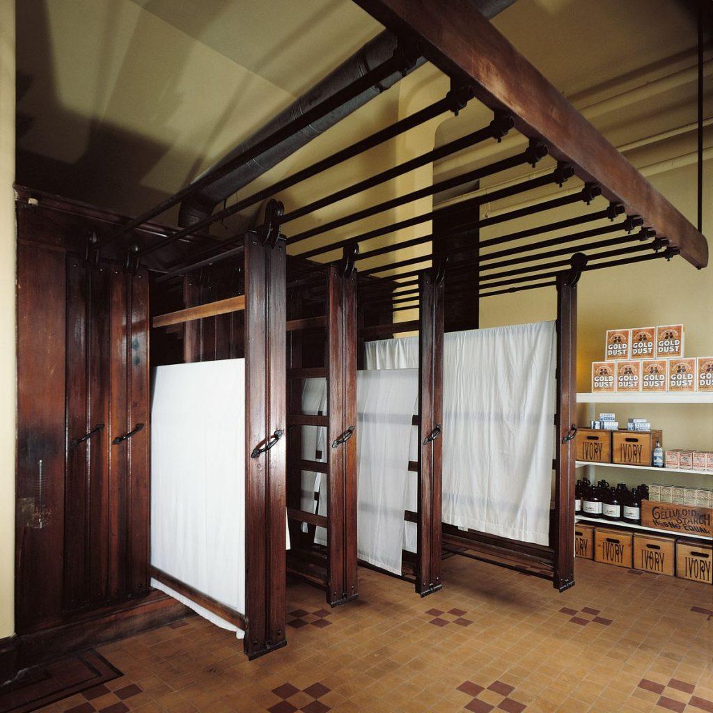 Biltmore laundry room