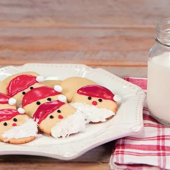 Easy Santa Cookie Recipe