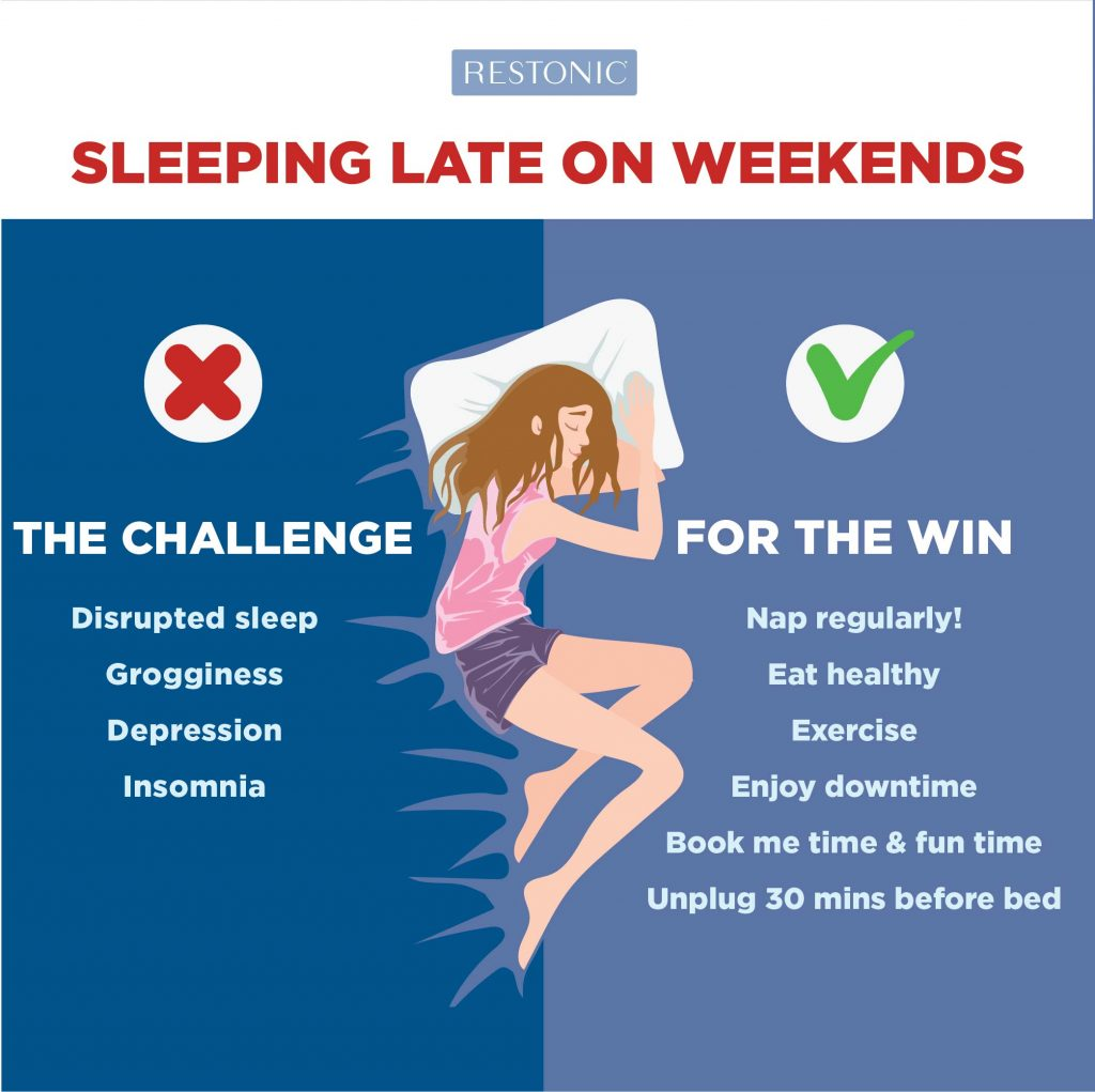 Is There a Difference Between Weekday Sleep vs. Weekend Sleep