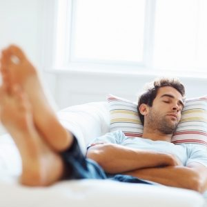 Avoid naps for better sleep