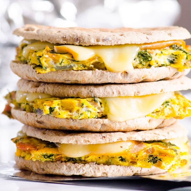 Healthy Breakfast Sandwich Recipe