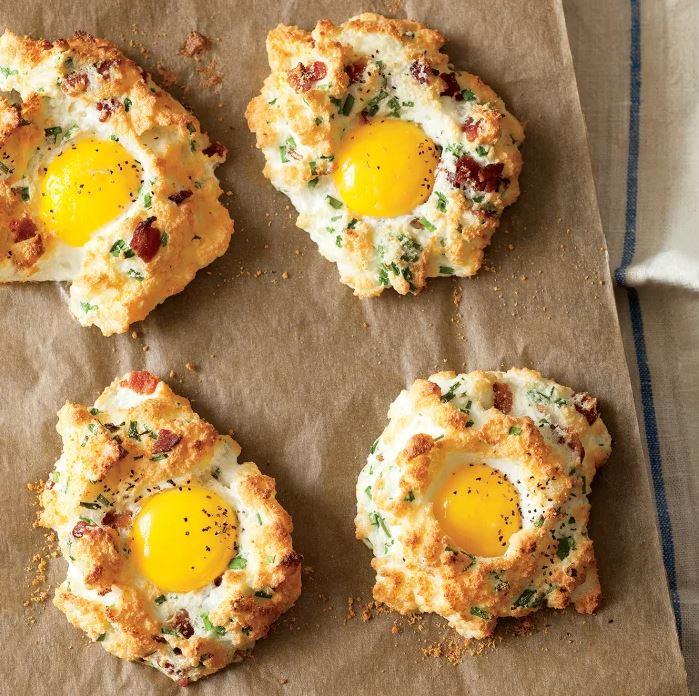 eggs in clouds recipe