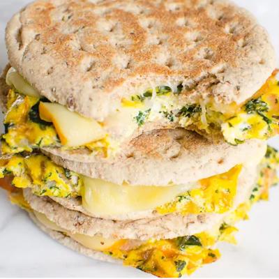 Zdravá snídaně sendvič