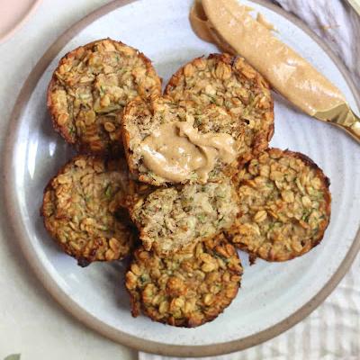košíčky na muffiny s banánovou cuketou