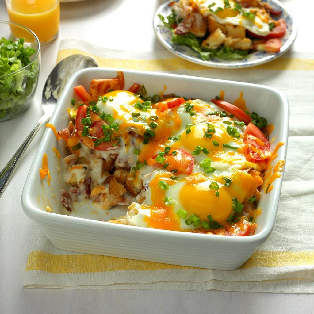 BLT Egg Bake Recipe
