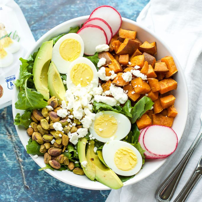 Spiced Sweet Potato & Kale Salad Recipe