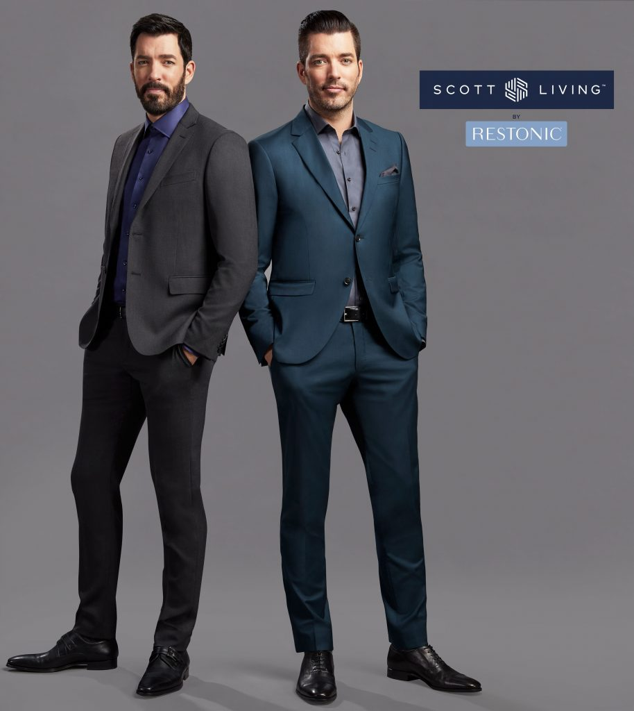 Drew & Jonathan Scott, hosts of HGTV's Property Brothers