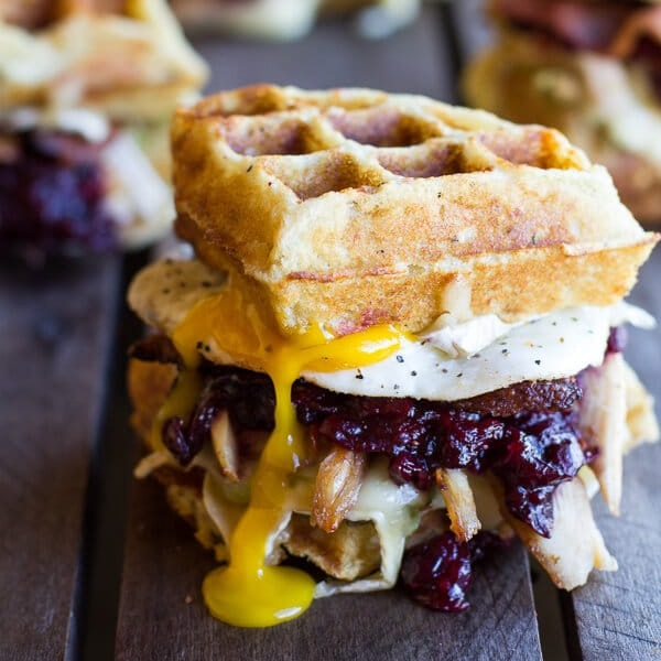Mashed potato waffle melt recipe