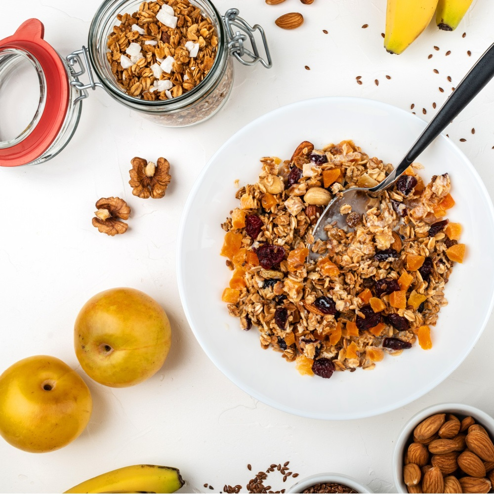 Red Quinoa Muesli
