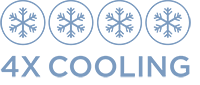 4x Cooling Feature Logo