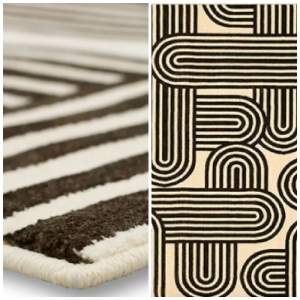 Scott Living Artisan Mod Charcoal Area Rug