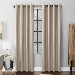 Scott Living Mateo Velvet Blackout Curtain Panels