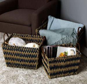 Scott Living Seagrass Basket Set